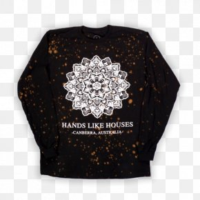 T-shirt - Canberra Hands Like Houses T-shirt Sleeve PNG