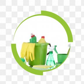 House - Cleaner Green Cleaning Maid Service House PNG