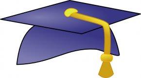 A Graduation Hat - Graduation Ceremony Cap Free Content Clip Art PNG