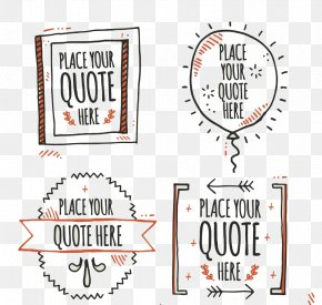 Handwritten Quotes - Handwriting Quotation Mark PNG