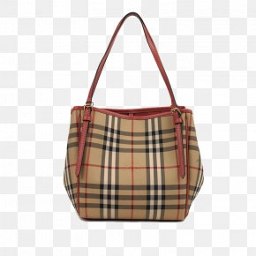 Burberry With Leather Shoulder Bag - Amazon.com Tote Bag Handbag Burberry PNG
