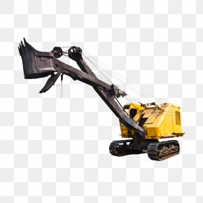 Shovel - Excavator Coal Mining Coal Mining Mine PNG