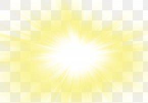Beautiful Beautiful Golden Sun Rays Sun Glare - Sunlight Luminous Efficacy PNG