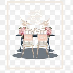 Wedding Restaurant Illustration - Table Bigstock Illustration PNG