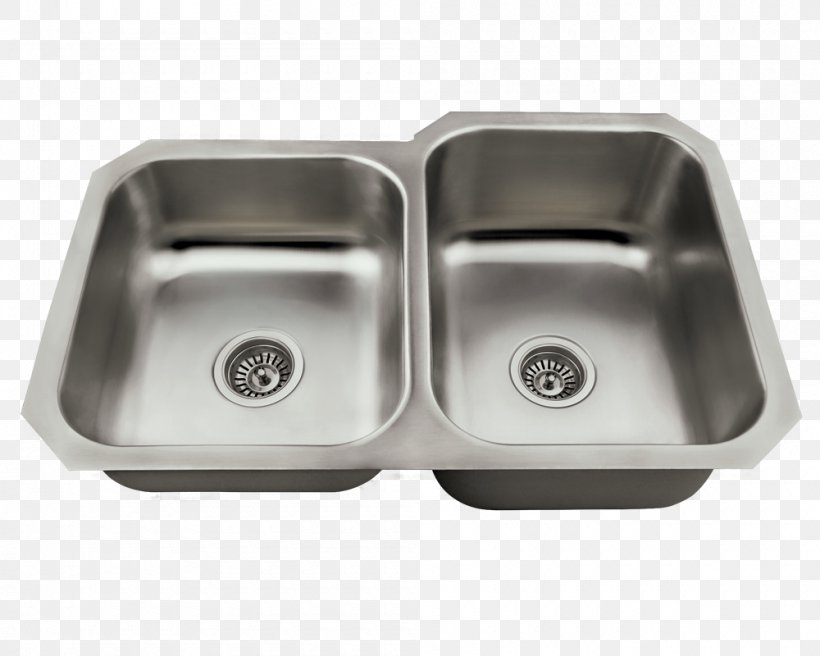 Kitchen Sink Stainless Steel Brushed Metal Universal Marble & Granite Inc, PNG, 1000x800px, Sink, Bathroom, Bathroom Sink, Bowl Sink, Brushed Metal Download Free