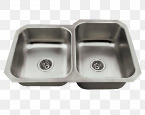 Sink - Kitchen Sink Stainless Steel Brushed Metal Universal Marble & Granite Inc PNG