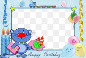 Birthday Frame - Birthday Cake Birthday Photo Frame : Photo Editor Collage Maker Picture Frames Clip Art PNG