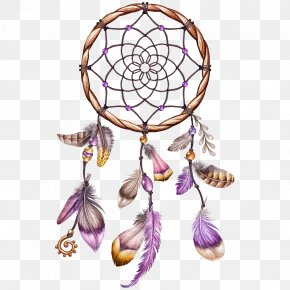 Dreamcatcher - Clip Art Illustration Borders And Frames Image Watercolor Painting PNG
