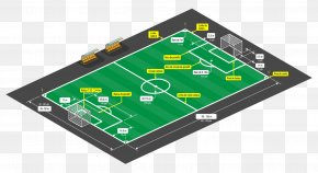 Football - Football Pitch American Football Sports Vector Graphics PNG