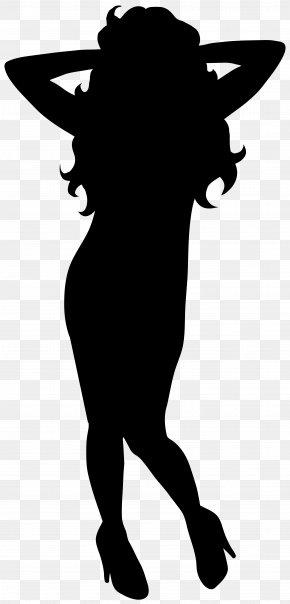 Dancing Woman Silhouette Clip Art Image - Silhouette Dance Clip Art PNG