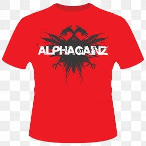 T-shirt Red - T-shirt Sleeve Polo Shirt Top PNG