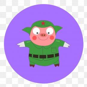 Hog Cartoon - Illustration Clip Art Film Director Christmas Ornament Tencent Video PNG