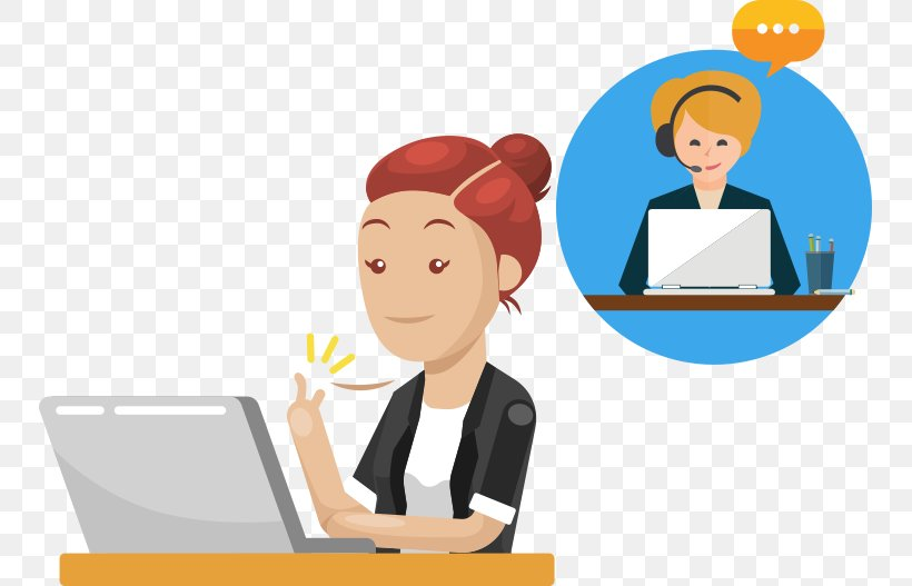Online Chat LiveChat Customer Service Conversation, PNG, 749x527px, Online Chat, Business, Businessperson, Call Centre, Cartoon Download Free