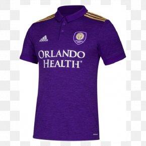 T-shirt - 2018 Orlando City SC Season T-shirt Jersey PNG