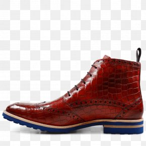 Boot - Leather Shoe Boot Walking RED.M PNG