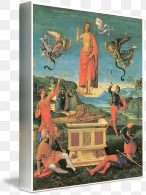 Resurrection Of Jesus - Painting Resurrection Of Christ Saint George And The Dragon Resurrection Of Jesus PNG