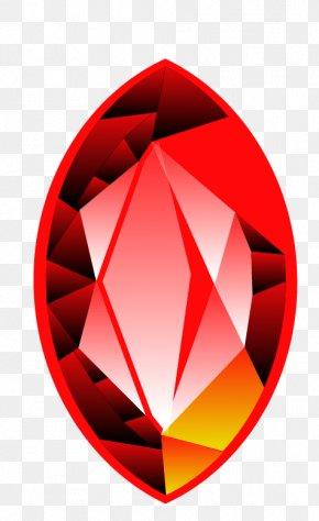 Hand Painted Ruby - Diamond Gemstone Ruby PNG