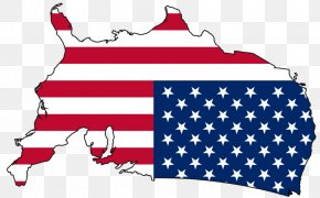 United States - Flag Of The United States Map American Civil War PNG