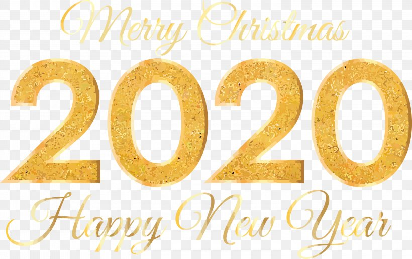 Happy New Year 2020 Happy New Year Png 3000x1892px Happy