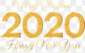 Text Happy New Year - Happy New Year 2020 Happy New Year PNG