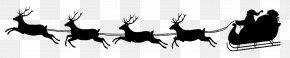 Santa Claus - Santa Claus's Reindeer Santa Claus's Reindeer NORAD Tracks Santa Clip Art PNG