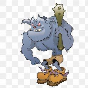 Cute Monster - Monster Cartoon Character PNG