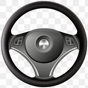 Car Wheel - Car Steering Wheel Clip Art PNG