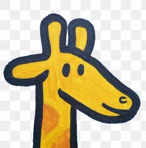 Hand-painted Giraffe - Northern Giraffe Painting Drawing Illustration PNG