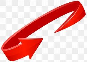 Red Circle Arrow Transparent Clip Art Image - Arrow Roy Harper Clip Art PNG