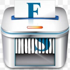 Eraser - Data Recovery File Deletion Trash Paper Shredder PNG