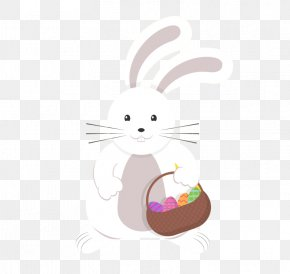 Easter Bunny Vector Material - Easter Bunny Rabbit Christmas PNG