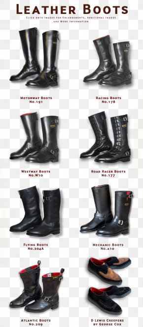 STICKERS - Motorcycle Boot Shoe Riding Boot PNG