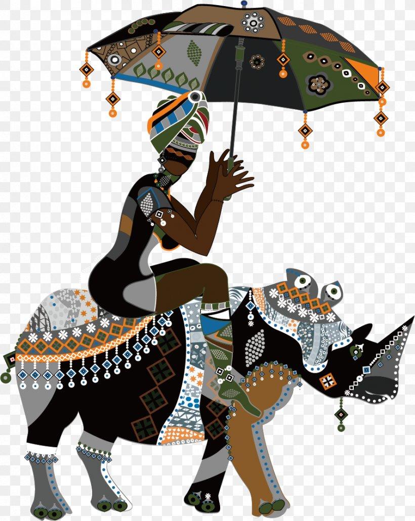 если картинки африканки в векторе итоге получилась