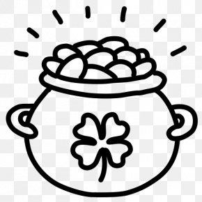 Gold Pot - Leprechaun Saint Patrick's Day Computer Icons Clip Art PNG
