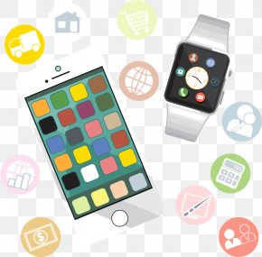 Smartphone Watch - Mobile App Development Smartwatch Icon PNG