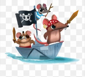 Vector Mouse Pirate - Rat DeviantArt Euclidean Vector Piracy PNG