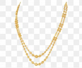 Gold Chain - Necklace Jewellery Gold Charms & Pendants Bead PNG