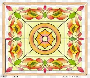 Square Glass Church - Paper Glass Sticker Square PNG