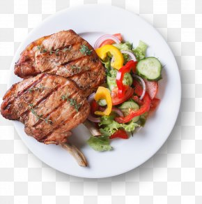 Barbecue - Barbecue Sunday Roast Grilling Food Salad PNG