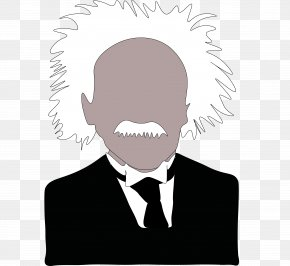Einstein - Facial Hair Facial Expression Mouth Jaw PNG