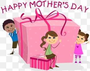 Mother's Day - Mother's Day Gift Child Clip Art PNG