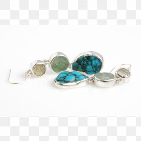 Jewellery - Turquoise Earring Jewellery Emerald Silver PNG