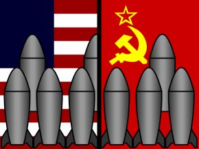 Nuclear War Cliparts - United States Cold War Berlin Wall Second World War Space Race PNG