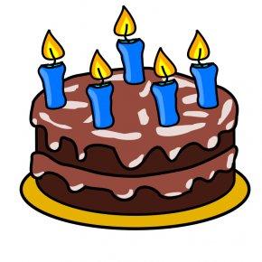 Happy Birthday Cake Clipart - Birthday Cake Icing Chocolate Cake Wedding Cake Tart PNG