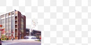 Building - Facade Architecture Euclidean Vector PNG