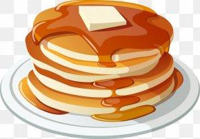 Breakfast Food Honey Bread - Pancake Breakfast Pancake Breakfast Bacon Clip Art PNG