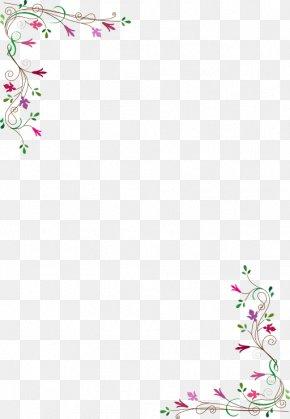 Flower - Picture Frames Flower Desktop Wallpaper Clip Art PNG