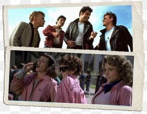 Pink Band - Danny Zuko Film Dance Sandy Musical Theatre PNG