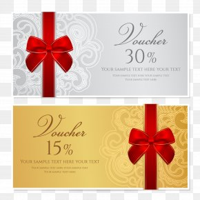 Festive Gift Card Design - Template Voucher Gift Card Stock Photography Coupon PNG