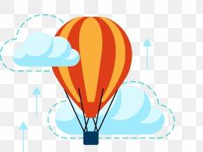 Summer Cookout Balloon Menu - Flat Design Clip Art Balloon PNG